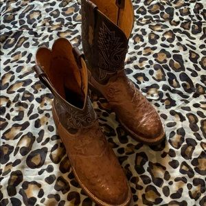 Lucchese Ostrich Boots